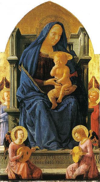 File:Masaccio, polittico di pisa, madonna col bambino, berlino 135,50x73 cm.jpg