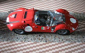 Old Maserati Race Car