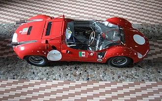 Maserati Tipo 61 - Maserati V12 Tipo 63 (early chassis)