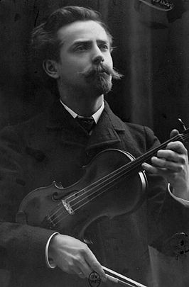 Mathieu Crickboom in circa 1905