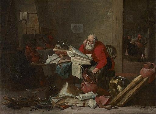 Mattheus van Hellemont The Alchemist