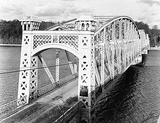 Loch Raven Reservoir - Matthews Bridge (1914-1978)