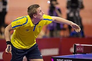 Mattias Falck Swedish table tennis player