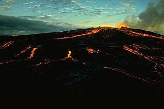 volcanic cone in Hawaii, United States of America
