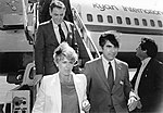 Mayor Raymond L. Flynn, Vice-Presidential Candidate Geraldine Ferraro, Governor Michael Dukakis (9577542068).jpg