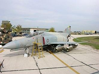 Andravida Air Base - One of 339th Squadron's F-4E aircraft at Andravida