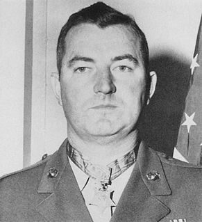 Marine Corps Medal of Honor recipient