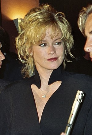 Melanie Griffith at the APLA benefit, 9/7/90 (...