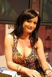 Melissa Lauren at AVN Adult Entertainment Expo 2008.jpg