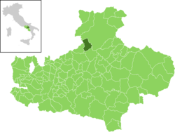 Melito Irpino within the Province of Avellino