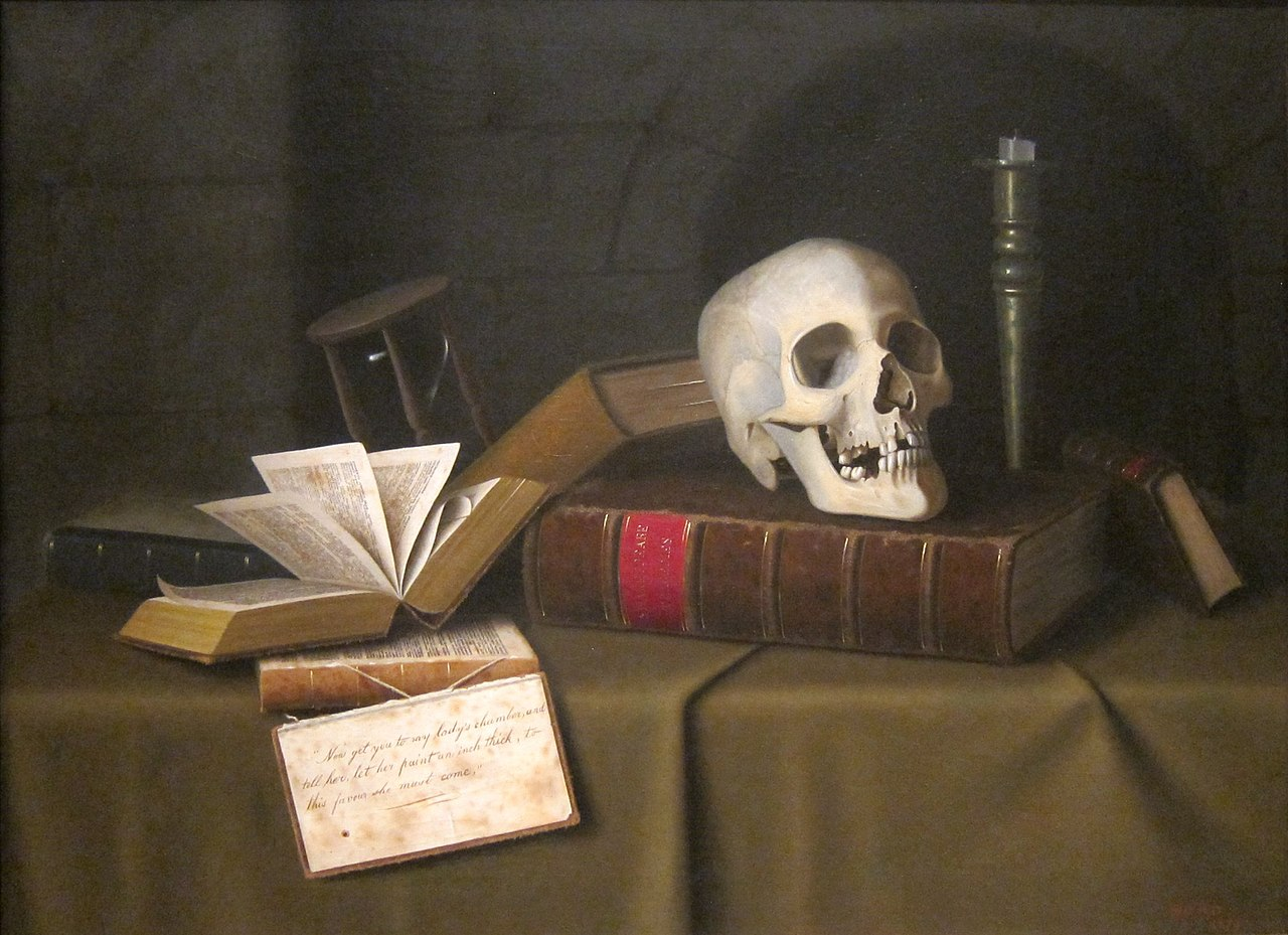 Memento Mori 'To This Favour' by William Michael Harnett, c. 1879.JPG