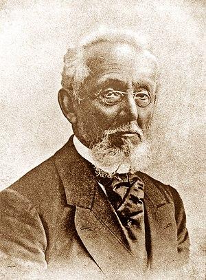 Mendele Mocher Sforim - Portrait of Mendele Mocher Sefarim (before 1917)