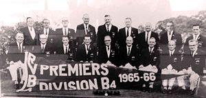 Heathmont Bowls Club - Heathmont Bowls Club men's team 1965–66