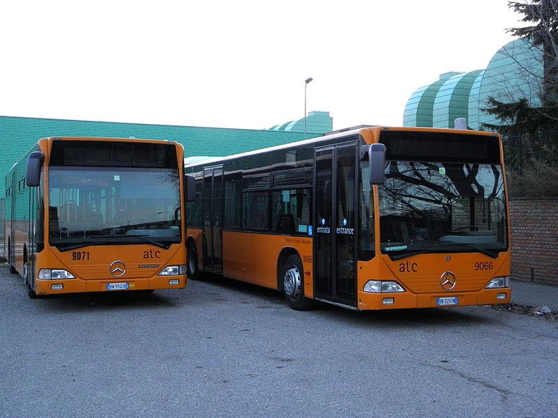 Ônibus em Turim