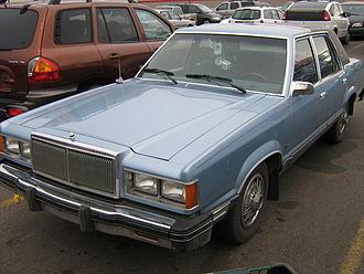 Ford Granada (North America) - 1981 Mercury Cougar LS