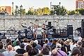 Mestizaje músico-poético en el Puente de Segovia 01.jpg