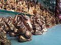 Metal Oxide Ganesh idols for sale in Tulshi Baug.jpg