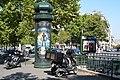 Metro Argentine, Paris 21 August 2013.jpg