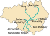 Metrolink network diagram