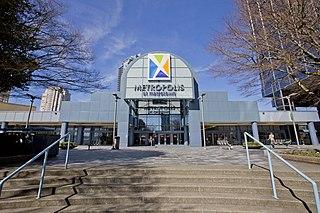 Metropolis at Metrotown Shopping mall in Burnaby, Canada