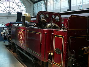 Metropolitan Railway A Class - Preserved A Class No. 23 at the London Transport Museum
