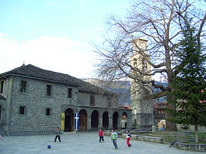 Metsovo - The church of Agia Paraskevi.