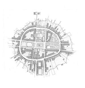 Mexcaltitán de Uribe - Plan of Mexcaltitan