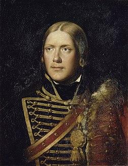 <i>Hussards de Saxe</i> cavalry unit set up in France under the Ancien Régime