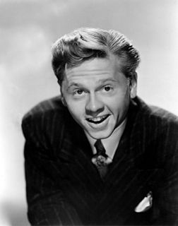 Mickey Rooney American film actor