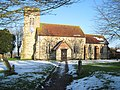 Midday Christmas 2009 Cublington Church - geograph.org.uk - 1635175.jpg