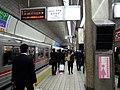 Midosuji Line Umeda station platform - panoramio - DVMG.jpg