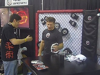 Mike Brown (fighter) - At the UFC 100 Fan Expo event in Las Vegas, July 2009