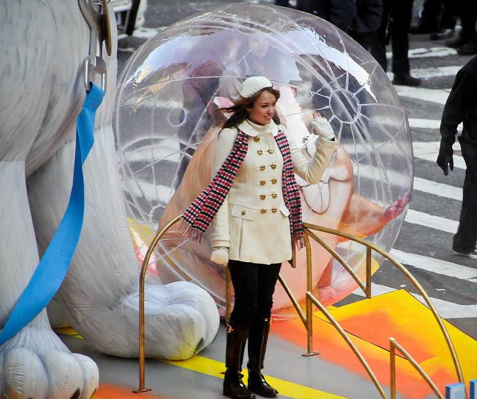 Miley Cyrus at the Macy's Thanksgiving Day Parade