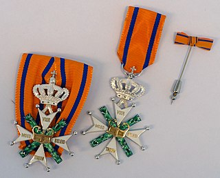 Military Order of William order of merit from the Kingdom of the Netherlands