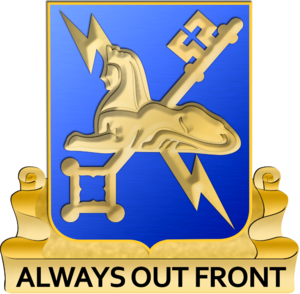 116th Military Intelligence Brigade (United States) - Image: Military Intelligence Regimental Insignia