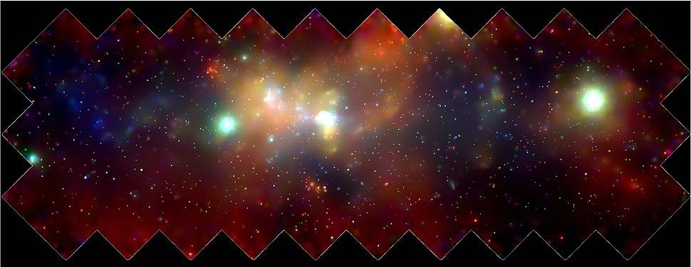 Milky Way Galaxy center Chandra