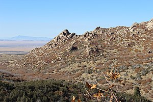 Mineral Mountains (Utah) - Image: Mineral Mountains near Milford
