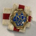 Miniatyrföreningstecken Drottning Sofias förening - Livrustkammaren - 82414.tif
