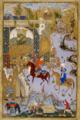 Mir Musavvir, Nushirvan and the Owls, Khamsa Nizami, 1539-40, British Library.png