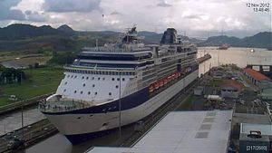File:Miraflores Locks Panama Canal 24h time lapse.webm