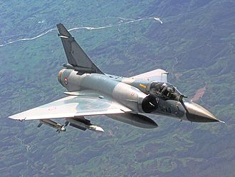 Dassault Mirage 2000 - A Mirage 2000C of the French Air Force