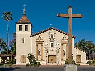 18t-century church in California