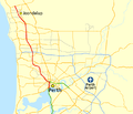 Mitchell Freeway map.png