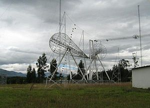 "HCJB - HCJB's steerable ""mixer-antenna"" in Pifo, Ecuador"