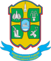 Coat of arms of Mižhirjas rajons