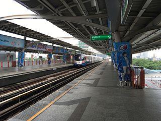Mo Chit BTS station railway station