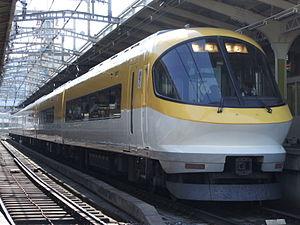 Yamada Line (Kintetsu) - Kintetsu Ise-Shima Liner at Ujiyamada Station