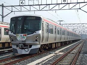 Model TX-1000 of Metropolitan Intercity Railway.JPG