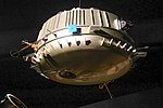 Model of the Huygens probe.Musée des Confluences.Lyon.jpg