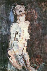 Amedeo Modigliani: Nu souffrant